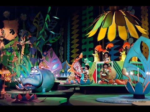 It's A Small World Complete Experience HD Magic Kingdom Walt Disney World