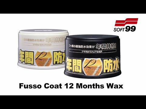 Soft99 Fusso Coat 12 months official promotional video