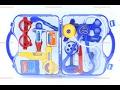 Totpan promosyon oyuncak doktor seti mavi erkek çocuk için çantalı