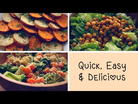 MY GO- TO RECIPES (Quick, healthy and easy!)