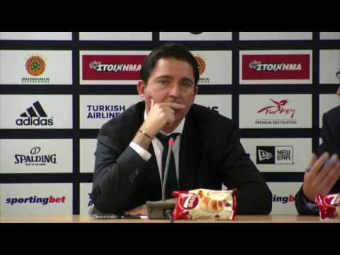 Playoffs Game 2 Euroleague Post - Game Press Conference: Panathinaikos Superfoods vs Fenerbahce