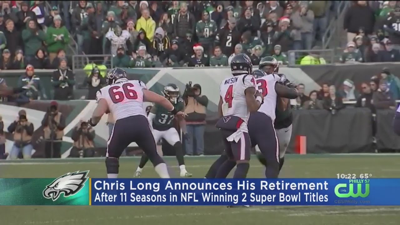 Chris Long Announces Retirement After 11 Years in NFL