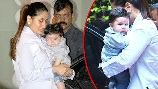 Kareena Kapoor Takes Baby Taimur To Tusshar Kapoor's Son's Birthday Party 2017