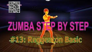 #13 Reggaeton : Reggaeton Basic Move | Learn zumba step by step | Zumba Basics