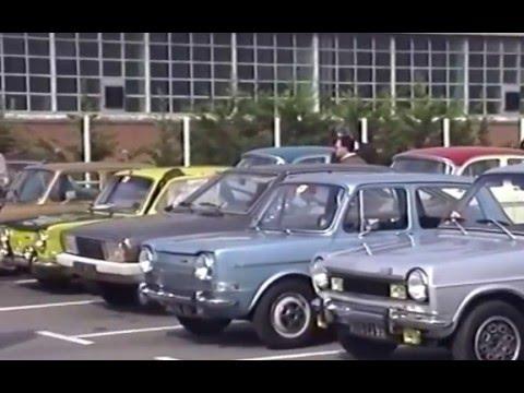 Simca  Treffen in Paris/Poissy mit Französischem Club 1991