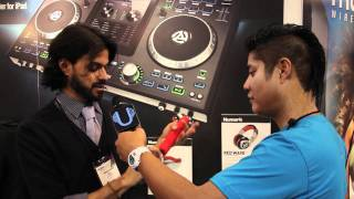 Numark RedPhone and Electrowave Headphones [NAMM 2012 First Look] | UniqueSquared.com