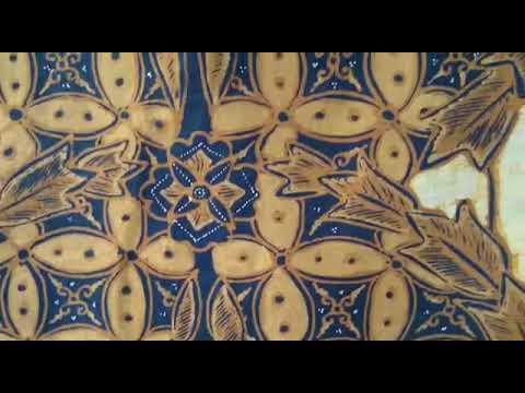 Traditional batik fabric for President Jokowi from Indonesia @Batikdlidir