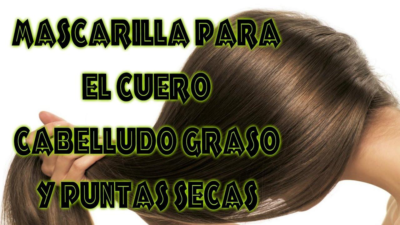 Tratamiento para cabello graso y puntas secas