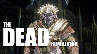 Middle Earth Shadow of War : Cool Orc Encounters & Quotes #74 THE DEAD Uruk Humiliator