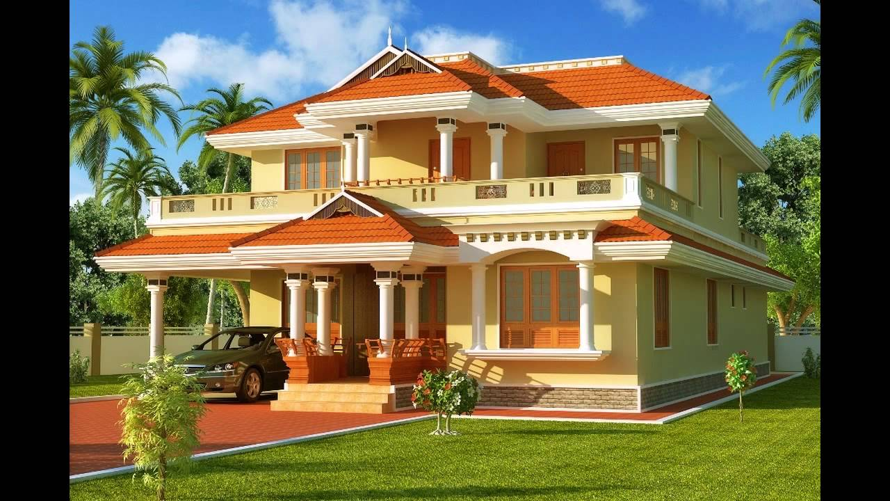 Best exterior paint colors for houses youtube for Indian home exterior designs