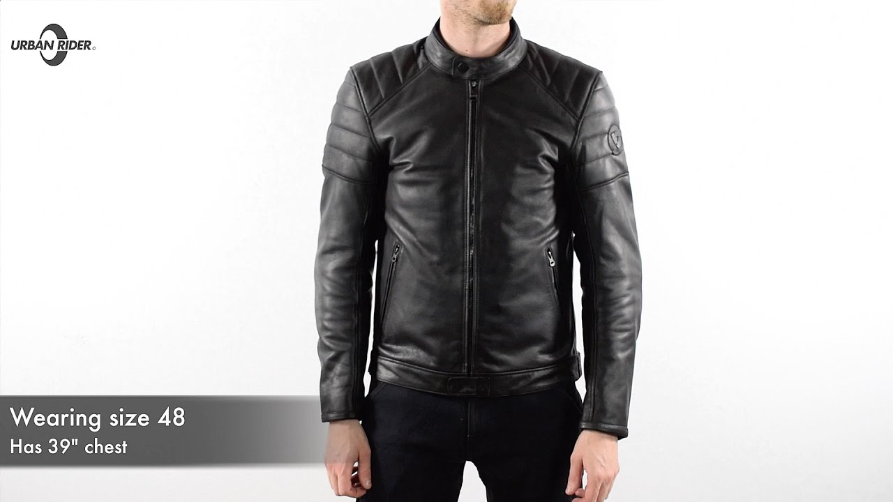 fe6b87e25 Rev'it Stewart Leather Motorcycle Jacket Review - URBAN RIDER