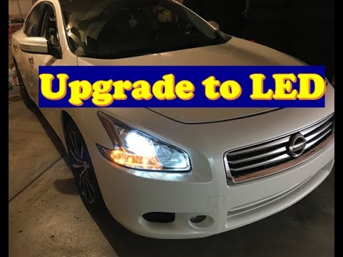 Nissan Maxima How To Change All Lights Led