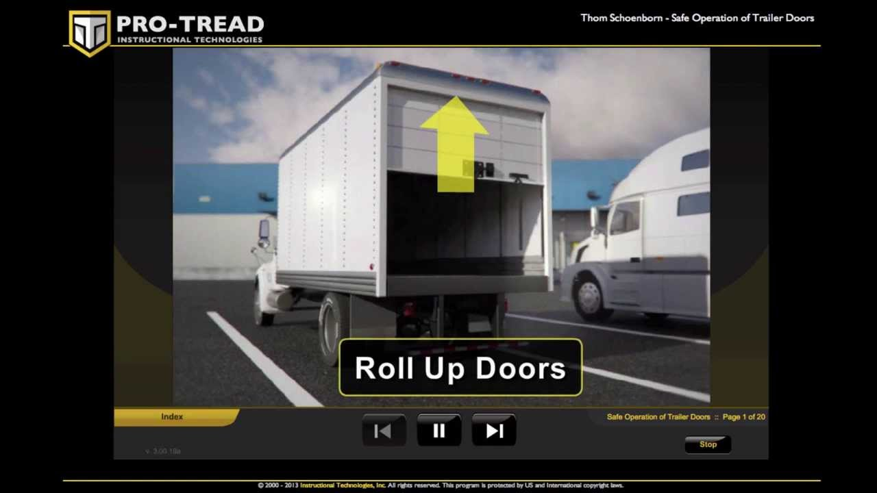 Pro-TREAD Trailer Door Safety & Pro-TREAD: Trailer Door Safety - YouTube pezcame.com