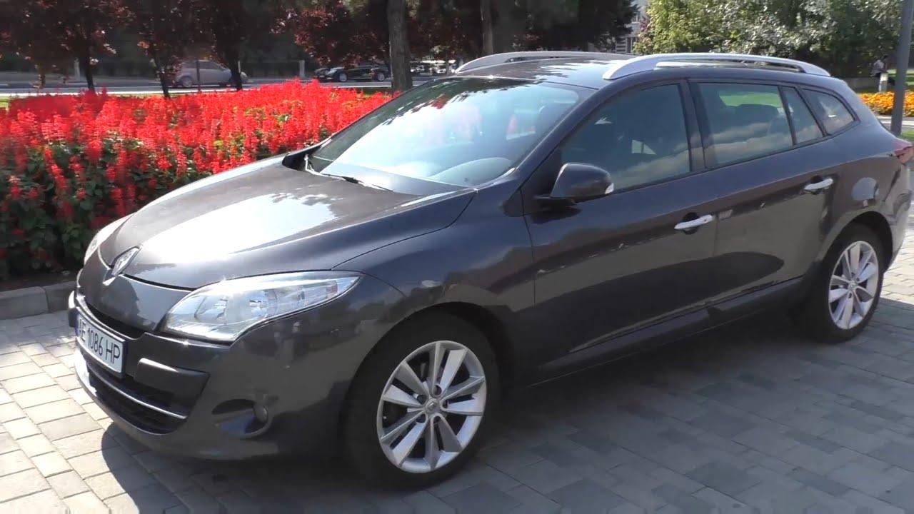 Renault Megane 2013 дизель универсал. Классная цяцька. - YouTube