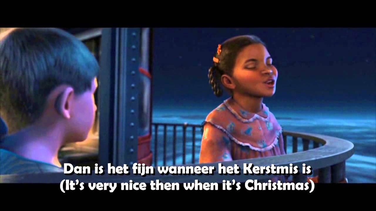 The Polar Express When Christmas Comes To Town.The Polar Express When Christmas Comes To Town Dutch Subs Trans