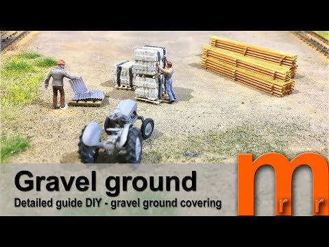 Gravel covered ground ULTRA – Detailed guide DIY