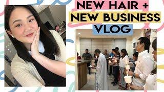 VLOG: NEW HAIR + NEW BUSINESS! | ASHLEY SANDRINE