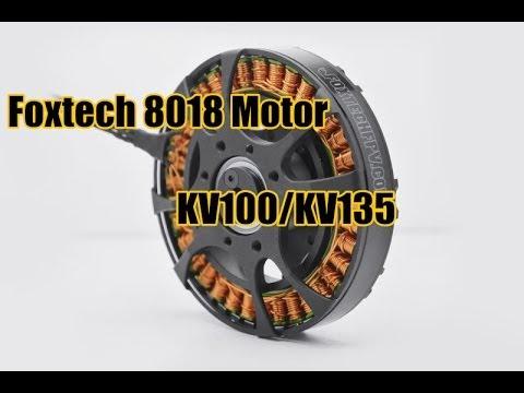 Foxtech 8108 Motor --- High Efficiency Motor