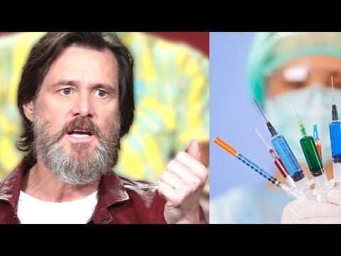 ¿Conspiración de las Farmacéuticas? Según Jim Carrey, sí