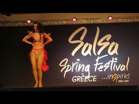 Stella Kotsoulidou (Greece) @8th Salsa Spring Festival
