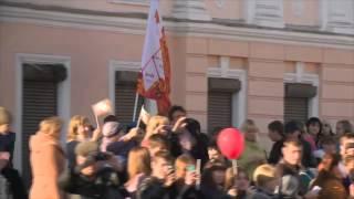 Эстафета огня прошла по стенам Тульского Кремля