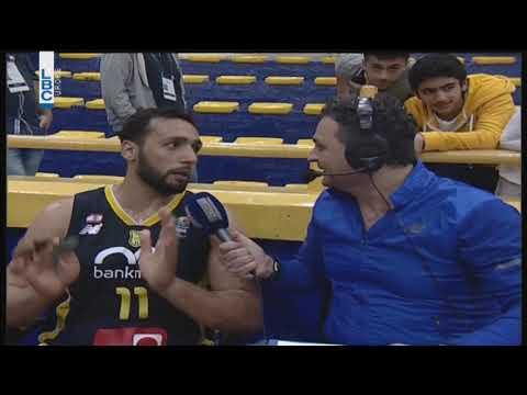 WABA 2018 - Post Game Ali Haidar - بطولة غرب اسيا للأندية 2018  - 20:22-2018 / 3 / 16