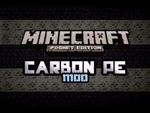 Carbon PE - Animal Riding And More! | MOD SPOTLIGHT | Minecraft Pocket Edition