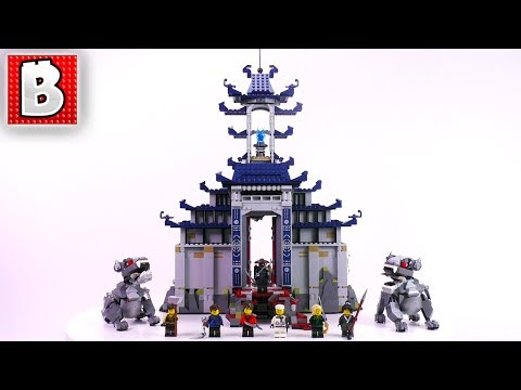 LEGO Ninjago Movie Temple of Ultimate Ultimate Weapon 70617 | Unbox Build Time Lapse Review