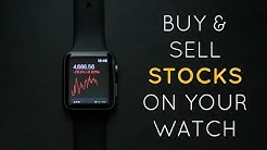 Buy STOCKS on your APPLE WATCH | Robinhood