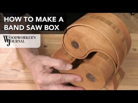 Basics of Making a Band Saw Box | JET Sponsored Project
