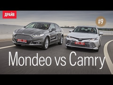 Toyota Camry 2018 #9 — Камри Vs Ford Mondeo