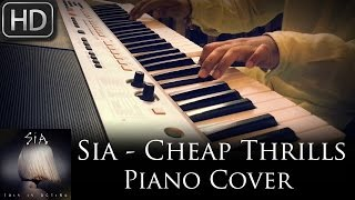 Sia - Cheap Thrills | Piano Cover on Dance Piano | Syed Sohail Alvi
