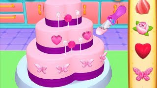 Fun Bakery Cake Making Kids Learn Decorate, Color & Serve Yummy Cakes Cooking Kids & Girls Games