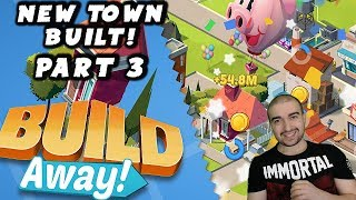 Build Away! - Idle City Game Walkthrough - #3 - NEW TOWN BUILD! - (Android Gameplay Let's Play)