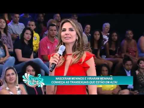 Gimenez Recebe As Transex Que Estão 'em Alta' No SuperPop