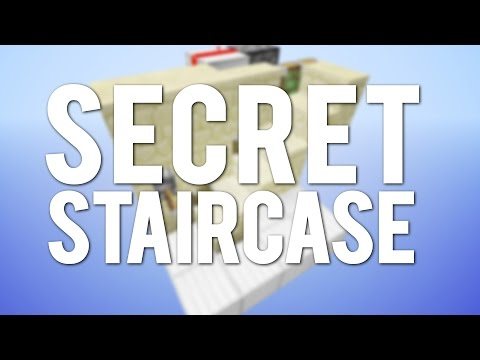 Minecraft: The Simplest Secret Staircase! [Day 5]
