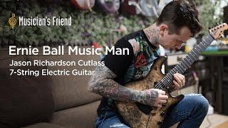 Ernie Ball Music Man Jason Richardson Cutlass 7-String Electric Guitar   Jason Richardson Demo