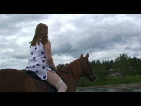 Sexy mature lady rides her stallion