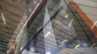 Double Glazed Guillotine System Details - Guillotine Glass Balcony