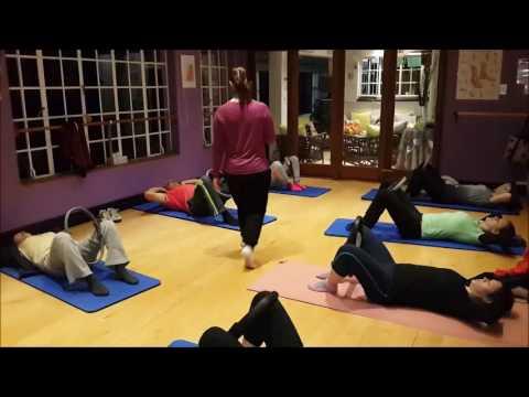 Pilates group class at Pilates Dynamics