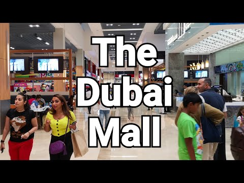 🇦🇪The Dubai Mall Shops And Shoppers Part 1 Of 2