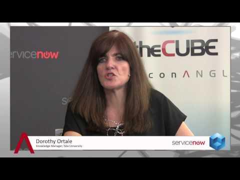 Dorothy Ortale & Ricardo Chavira  ServiceNow Knowledge13  theCUBE