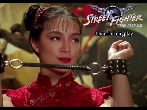 Street Fighter The Movie Ps1 Street Battle Chun Li Youtube