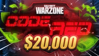 🔴 $20,000 WARZONE TOURNAMENT - Code Red