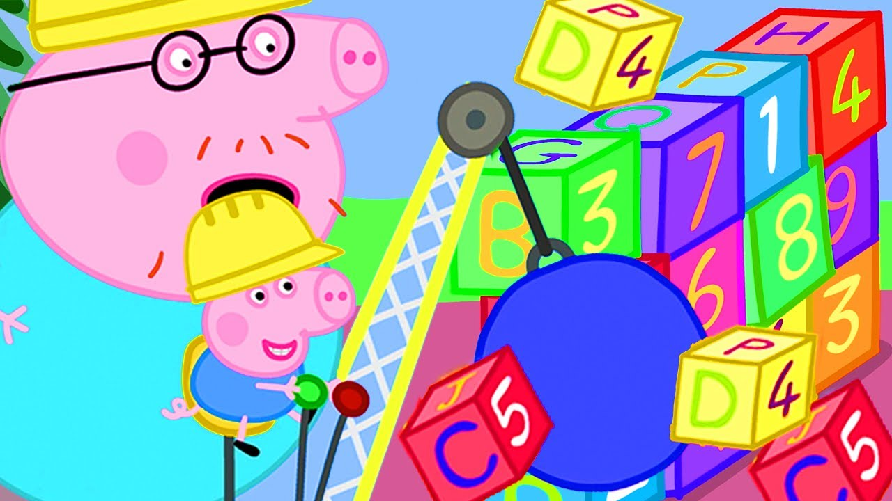 Peppa Pig Official Channel | Mr Potato Special ????Welcome to Digger World!