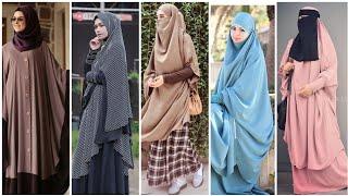 Simple abaya & hijab designs // comfertable abaya hijab styles