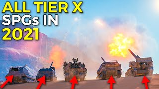 Which Tier 10 Aŗty is The Dirtiest in World of Tanks 2021 ⛔ | The Best Artillery