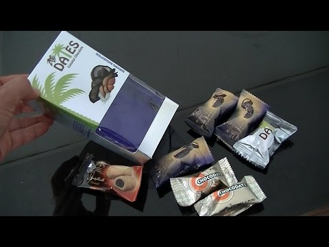 Miss Mary Culinary Food Review 99 Arabian Chocolate Candy  Coklat Dates Arab BR TiVi 5203