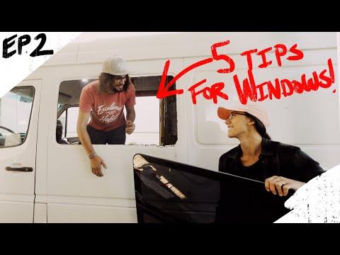 5 Tips: Installing a Window in a Sprinter Van