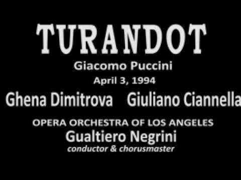 TURANDOT Part 1 - Opera Orchestra of Los Angeles 1994